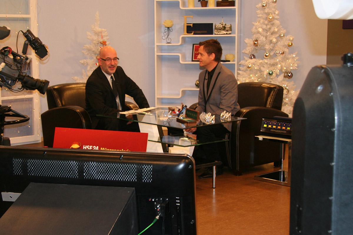 Ralph Reppa und Walter Blum im HSE Aufnahmestudio
