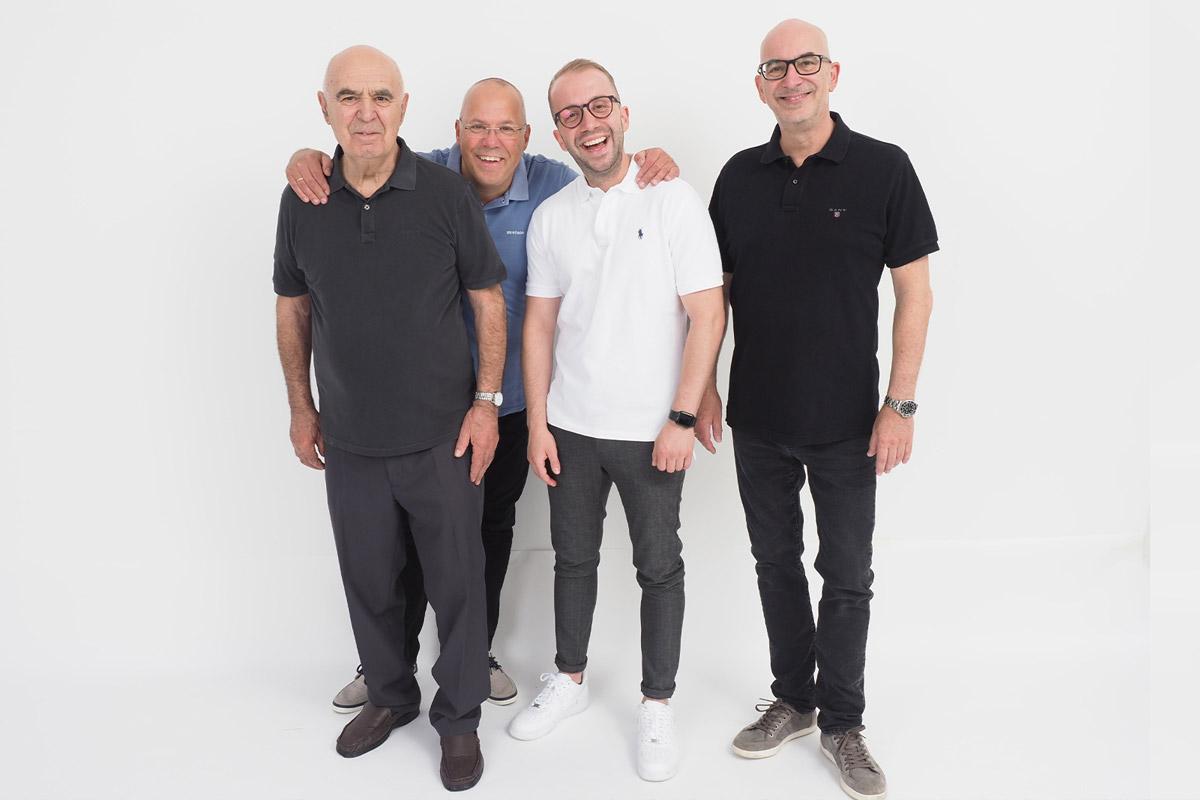 3 Generationen Reppa: Georg sen., Gerald, Can und Ralph