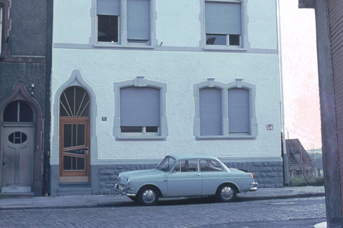 Erster Firmensitz um 1970