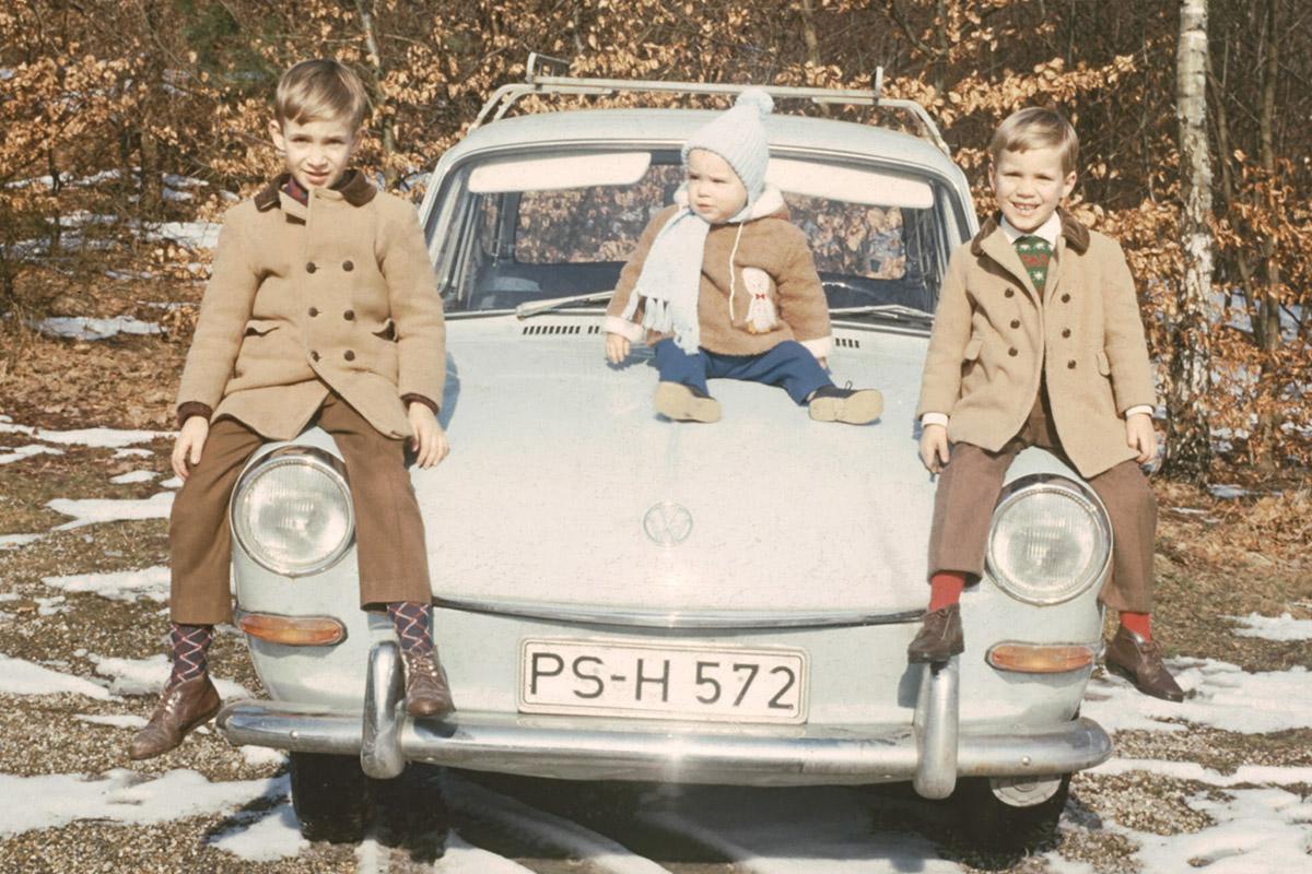 Ralph, Gerald und Georg jun.