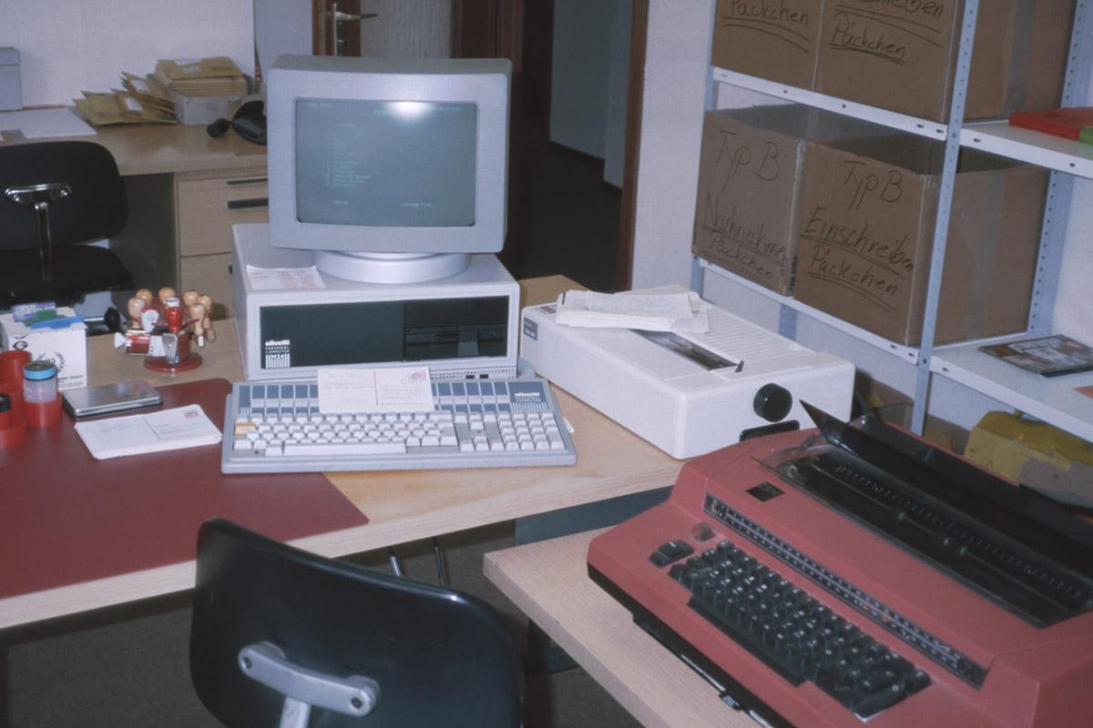 Der erste Computer im Hause Reppa
