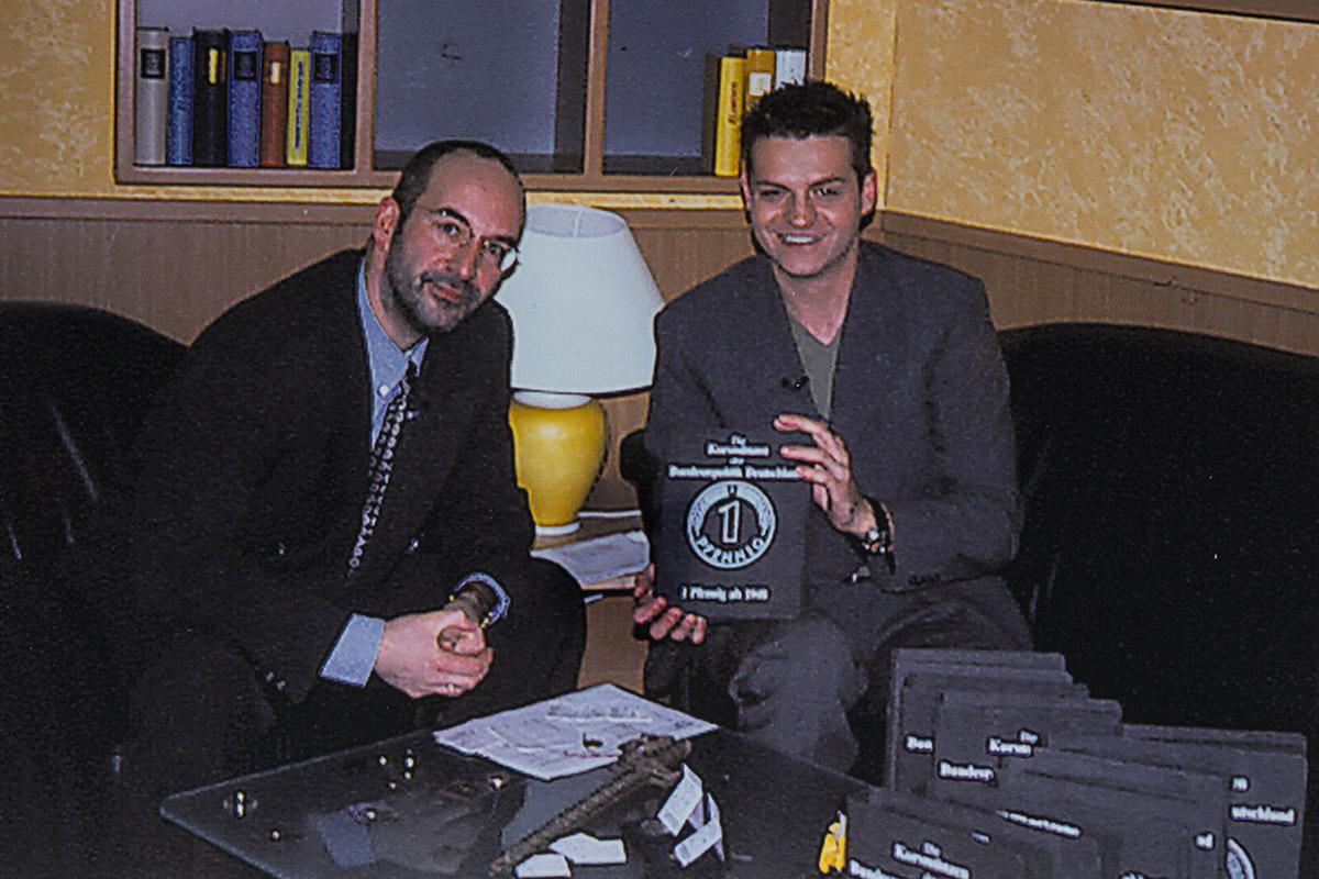 Ralph Reppa und Walter Blum